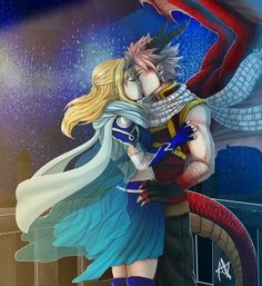 NaLu - Fairy Tail ~ DarksideAnime