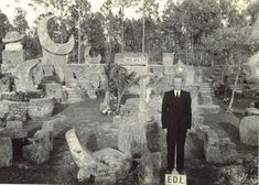 Coral Castle - The Secrets of The Coral Castle Code 144. It's truly weird how he managed to do this.