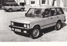 Range Rover Vogue V8 3.5 litre (Swiss photo card)