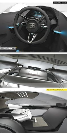 Bugatti Thesis Project // Car Design Awards Global 2015 on Behance