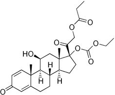 prednicarbate (Dermatop) is a relatively new topical corticosteroid drug. It is similar in potency to hydrocortisone.