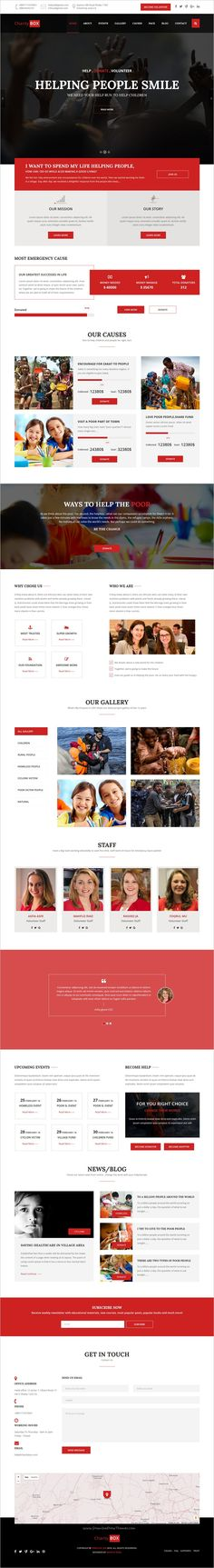 GreenWorld - Nonprofit Environment Responsive HTML5 Template - ngo templates