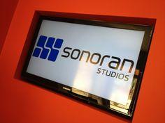 Signage! AV production by Sonoran Audiovisual in Phoenix. www.sonoranstudios.com/av - 602-283-4440 or av@sonoranstudios.com