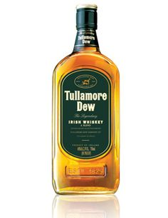 Tullamore-Dew-Irish-Whiskey: good paired with a beer. Irish Whiskey done right. For the rest of our liquor selection visit http://burtsirishpub.com/liquors