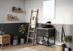 Kolekcja mebli łazienkowych Look. #elita #meble #łazienka #meblełazienkowe #elitameble Ladder Decor, Home Decor, Decoration Home, Room Decor, Interior Decorating