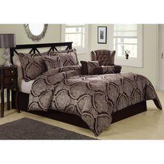 Tudor 7-piece Comforter Set   Overstock.com