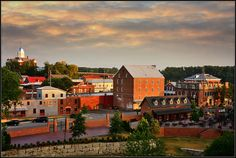 The little German town of Hermann, MO voted one of the most beautiful towns in Missouri by Forbes magazine.