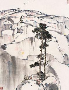 Wu Guanzhong(吴 冠中 Chinese, 1919-2010) via