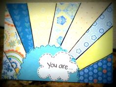 You are my Sunshine Greeting Card by LifesAcanvas on Etsy, $4.00