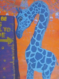 Too Tall or Not Enough original acrylic by FromUnderTheTree, $180.00