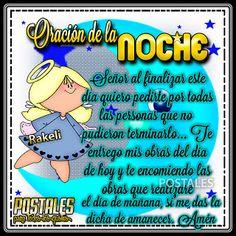 Postales Para Compartir.: ORACIÓN DE LA NOCHE