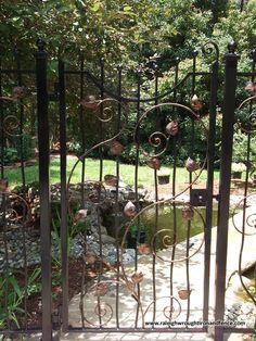 Custom wrought iron gates