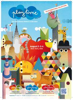#PlaytimeNY 9th edition August 2-4, 2014 www.playtimenewyork.com
