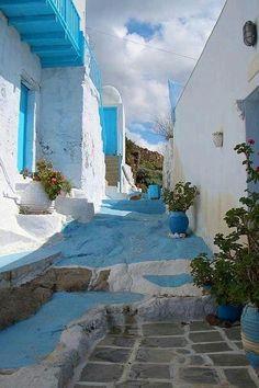 Kythnos-Greek Aegean island.