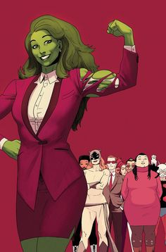 The final issue of her latest series. I hope she has another run soon. Charles Soule was the perfect writer for She-Hulk since he's actually a lawyer