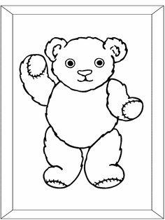 Teddy Bear Free Printable Worksheet For Preschool Kindergarten Home School