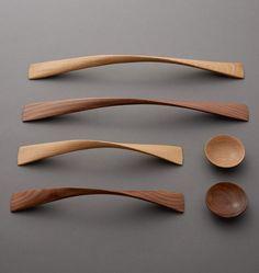 Image result for handmade wooden cabinet pulls