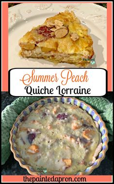 I have fond memories of Quiche Lorraine, the first time I ever had it was at a sophisticated lunch with my father and one of his colleagues When I was in college I had a summer job as an intern for his company in downtown Los Angeles. Deep Dish Quiche Recipe, Quiche Dish, Pie Dish, Quiche Recipes, Brunch Recipes, Breakfast Recipes, Breakfast Quiche, Breakfast For Dinner, Pie Crust Dough