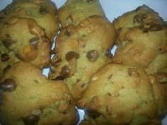 Chocolate, peanut butter chips cookies