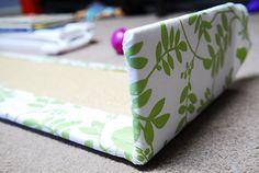 DIY Upholstered Cornice Box