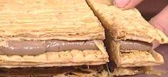 Μιλφέιγ σοκολάτας από τον Στέλιο Παρλιάρο