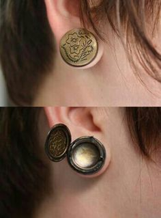 Locket plugs, gauges, stretched ears