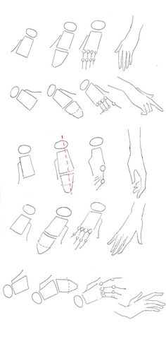 How to draw hands | Fashion Drawing | Templates and Tutorials