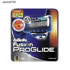 Shavors Gillette Fusion Razor Blades Proglide Manual 8 Pack Beard Nose Cutters
