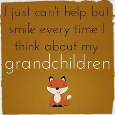 A happy thought, featuring a little fox, written on a carmelly background...so belongs on this board!