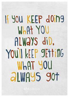 Start the change...