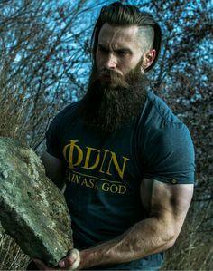 Vikings beard style