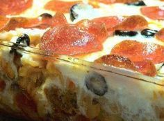 Yum | Pizza Casserole