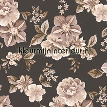 Classic flowers behang Dekora Natur 6 AS Creation Wall Decor, Wallpaper, Classic, Floral, Flowers, Inspiration, Site, Taupe, Home Decor