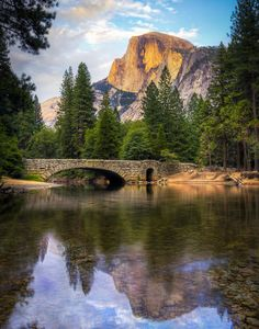 Yosemite Half Dome and Stoneman Bridge in HDR http://www.milieuxphotography.com/2013/11/19/yosemite-half-dome-hdr/