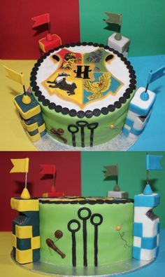 Harry Potter Quidditch Cake by betty002 on DeviantArt