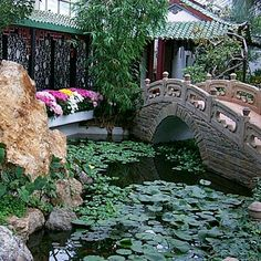 duke gardens new jersey Chinese Courtyard, Chinese Garden, Garden Park, Garden Bridge, Gardens Of The World, Chinese Style, Outdoor Gardens, Countryside, Paths