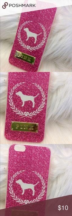 Pink Victoria's Secret case iPhone 6-6s Brand New case for iPhone 6-6s pink Victoria's Secret PINK Victoria's Secret Accessories Phone Cases