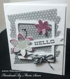 CTMH Hello Blooms Stamp set. Page 99 http://www.mariasaxon.com