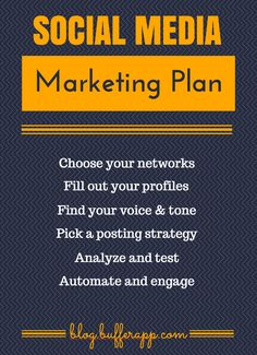 How to Create a Social Media Marketing Plan From Scratch #infographic