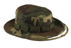Rothco Woodland Camo Vintage Boonie Hat