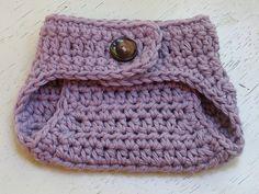 Ambassador Crochet — Pixie Hat  Diaper Cover Crochet Pattern Set