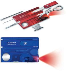 Credit Card Swiss Army Knife:  found it on the Geek site, of course, but I want one!!