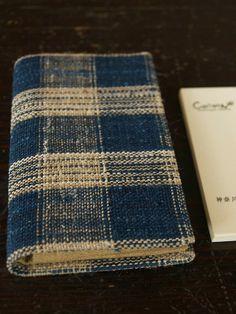 Handwoven Fabric Card Holder /Harue NISHIKAWA・Textile COCOON