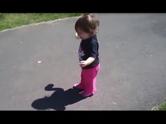 There was time in our life then we didn't know what shadow is and we were afraid of it. This videos shows how funny babies afraid of their own shadow then babies discover thier shadow for the first