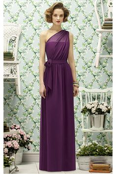 Impressive Wedding Sleeveless One Shoulder A-line Party Dresses