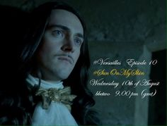 """Vanessa on Twitter: """"Join us tonight for #Versailles' FINALE, at 9PM(GMT), on @BBCTwo, using #SunOnMySkin for our weekly LT ⚜👑⚜ https://t.co/WCZmEIh0hu"""""""