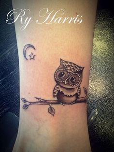 Idea for owl tattoo