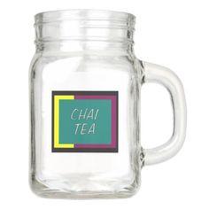 Chai Tea Mason Jar