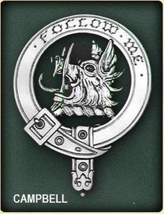 Campbell Of Breadalbane Clan Badge Polished Sterling Silver Campbell Clan Crest Campbell Clan, Scottish Clans, Family Trees, In Ancient Times, Three Dimensional, Genealogy, Scotland, Badge, Polish