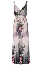 Abstract Floral Maxi Dress Floral Maxi Dress, Abstract, Dresses, Fashion, Gowns, Moda, Fashion Styles, Dress, Vestidos